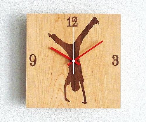 手工木制时计
