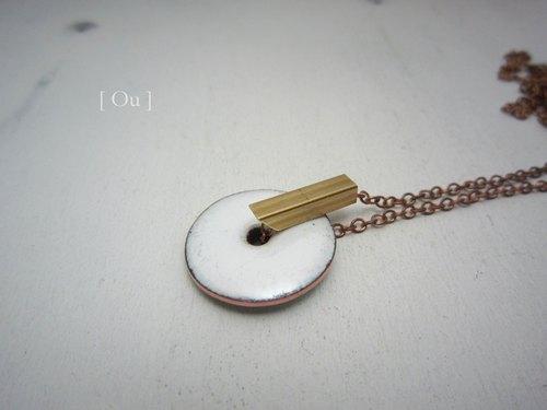 手工制作纽扣项链