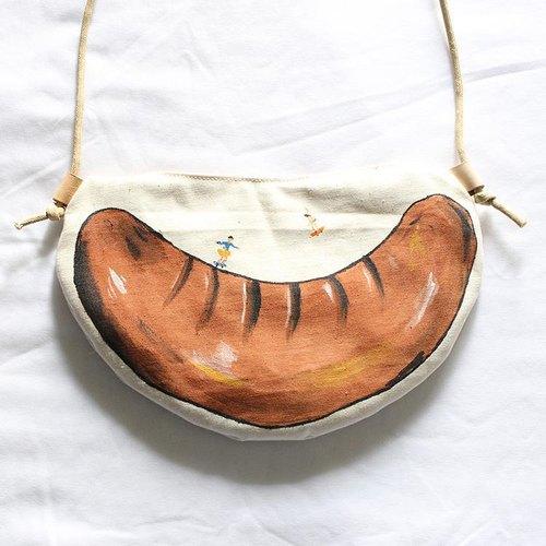 手绘香肠形袋-上肠挑战!