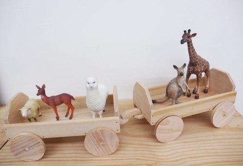 动物列车|移动置物架