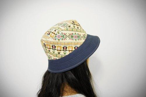 全球配送 手工制作 超商取货 台湾出品 原创商品 雀跃欢乐渔夫帽 手