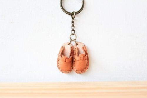 ▎Shekinah ▎手工皮革 - 小小勃肯鞋吊飾 ( 單隻 )