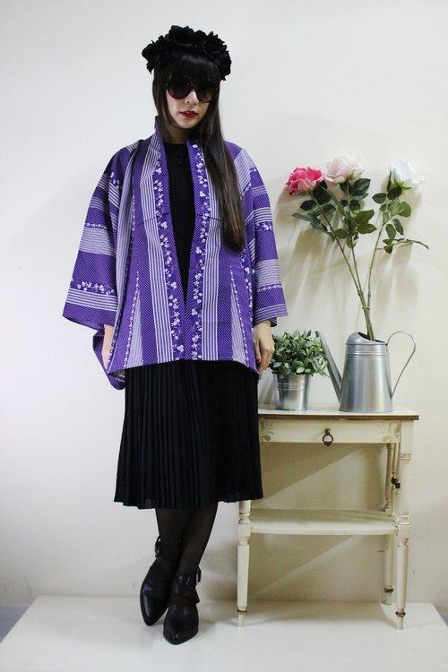 花纹日本和服羽织