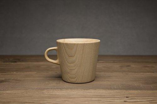 高橋工藝 手工 木頭 馬克杯  M  size KAMI Mug Cup  M