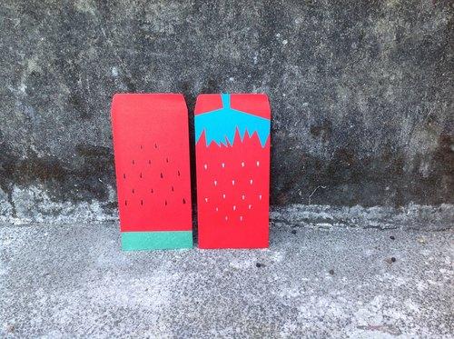 紅包袋$西瓜紅和草莓紅