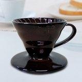 HARIO圓錐 陶瓷 咖啡 濾杯 (1~2杯)咖啡色原價$980特價$680 (數量有限.售完為止)