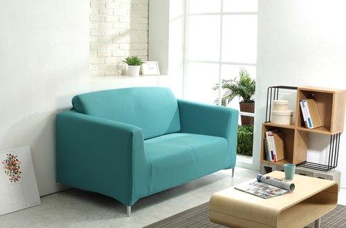 沙发套-双人座(蓝绿色)