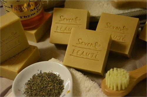 [Savon Beauté-莎媞作坊]百里香蜂蜜馬賽皂
