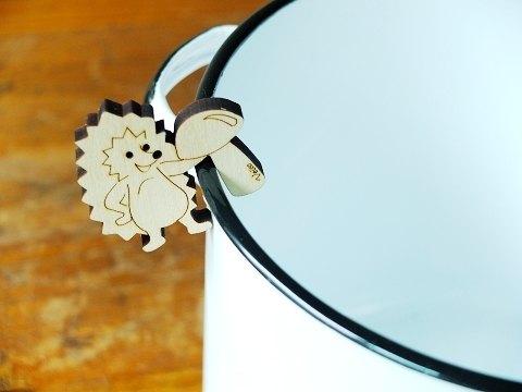 北歐人的做菜小工具  芬蘭製 Veico鍋邊用鍋蓋立架pot watcher 刺蝟hedgedog
