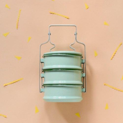 經典派對:薄荷綠泰國傳統便當盒(新色)
