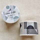 Aimez le style 寬版和紙膠帶 (02907 幾何拼貼)