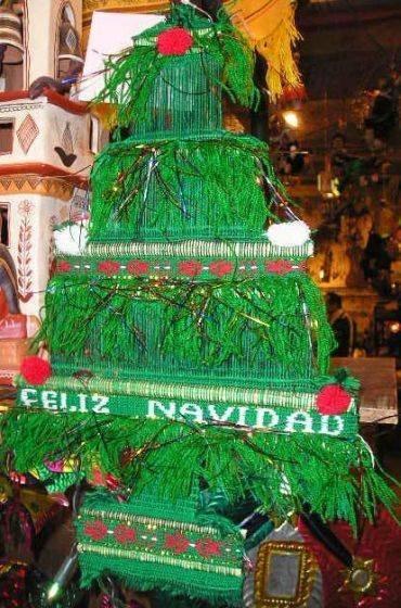 手工制作圣诞树的挂件