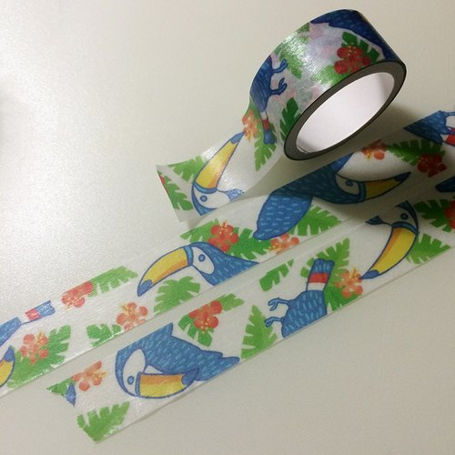 熱帶大嘴鳥紙膠帶