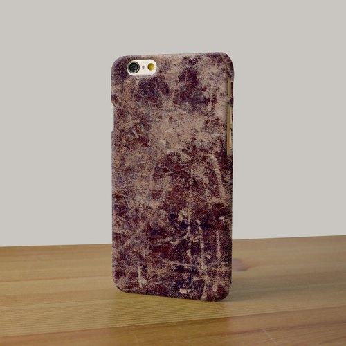 iPhone 6/6S Case 手機殼, iPhone 6/6S Plus Case 手機套, Freshion 原創設計師品牌 - 啡色懷舊皮革 cr83