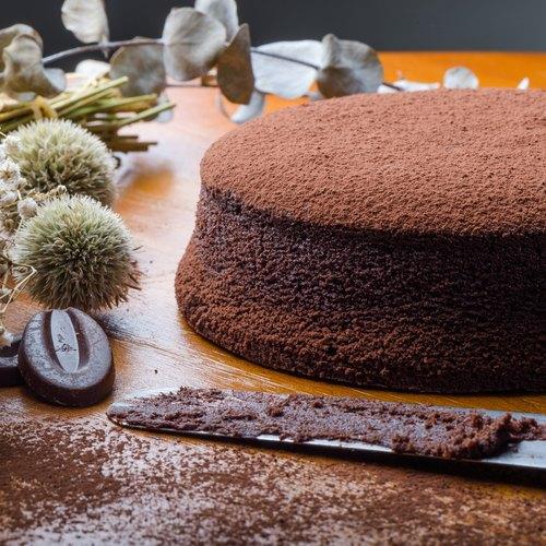 """【森之心手工甜品坊】古典巧克力蛋糕 6"""""""