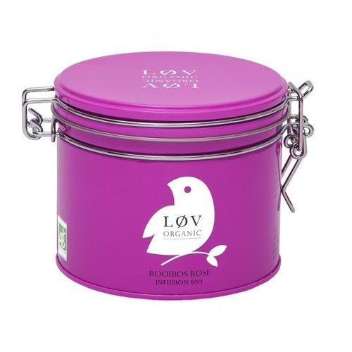 有機如意波斯玫瑰風味茶 -  Rooibos rose  ( 罐裝茶葉 ) - 即期清倉優惠