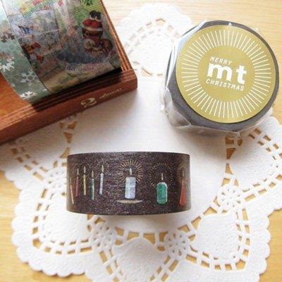 mt 和紙膠帶 2013 Christmas 聖誕款【耶誕燭光(MTCMAS32)】