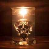 EYE LAB 骷髏頭罐裝香氛蠟燭 銀黑色特製版 300ml