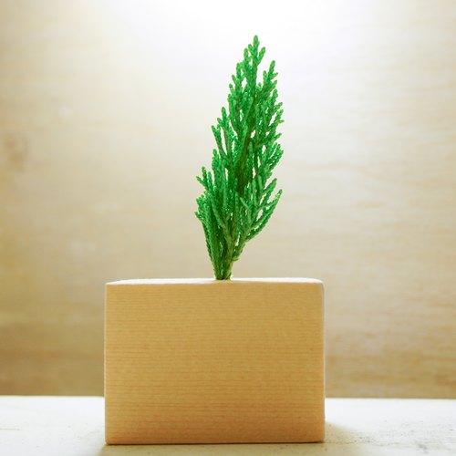 永生积木盆栽 - 微景设计