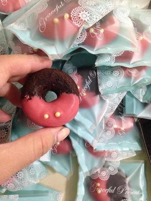 C.Angel 【屁屁甜甜圈】手工製做 不含防腐劑 巧克力布朗尼蛋糕