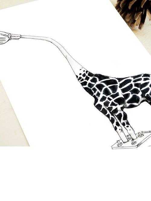 ARTtitude 都市叢林Concrete jungle - 系列明信片 設計師款 系列1- 鹿燈