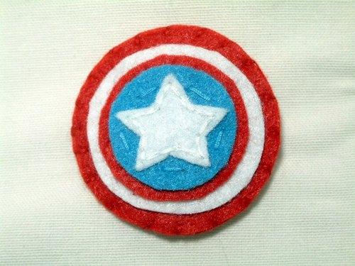 美國隊長的盾牌手工別針