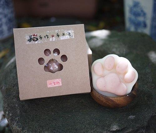 猫手作是专门制作专利猫掌皂的一家公司,设计可爱又富实用性的