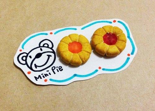 果醬餅乾耳環(可改耳夾式)  ((滿500隨機送神秘小禮物))