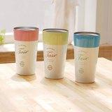 【新品】CB巴黎系列 馬卡龍 雙層 保溫保冷杯 375ml (共3色)(玫瑰粉)