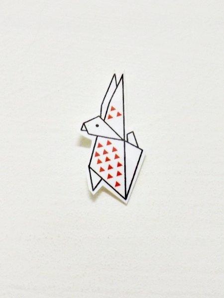 是老板娘妈妈最喜欢的动物 所以折纸系列第一波可爱小动物就是兔子!
