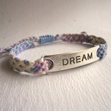 充滿夢想 幸運繩 編織手環 (可選色)