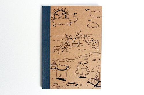 夏日*手绘笔记本