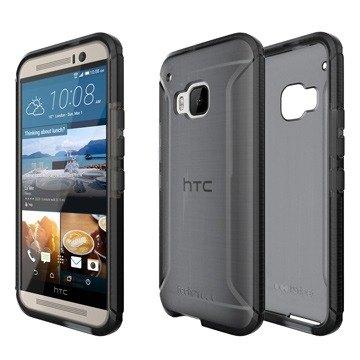 英國Tech 21 超衝擊 Evo Tactical HTC One M9 防撞軟質保護殼 - 透黑 (5055517344173)