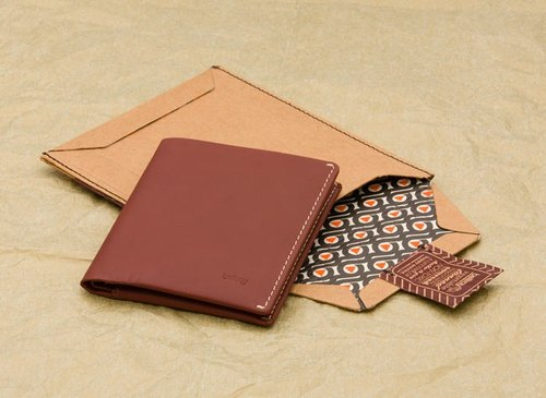 Plain-me獨家代理 澳洲皮件品牌BELLROY Note Sleeve Wallet (Cognac)