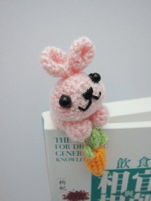 小兔子与胡萝卜.书签