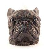 黑色法國鬥牛犬造型蠟燭 French Bulldog Candle