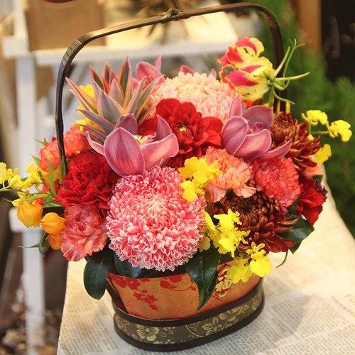 盆花外包装设计