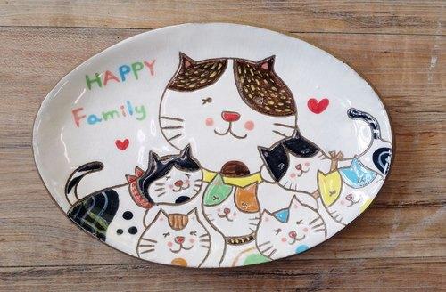 猫咪小王子—happy family造型盘