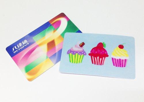 蛋糕 交通卡貼 丙烯 悠遊卡 八達通卡