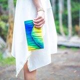 南庭系列包/手拿皮夾包(彩色款)。手拿包。皮夾