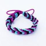 藍黑紫三色編繩