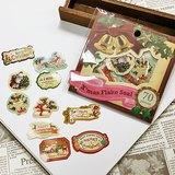 日本 amifa Xmas 聖誕風格迷你貼紙 (28751)