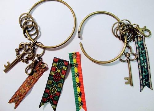 復古守門人鑰匙環(大圈)