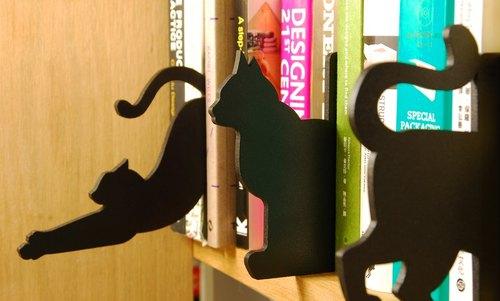 貓境夢遊 / 書籍分類隔板 黑貓版