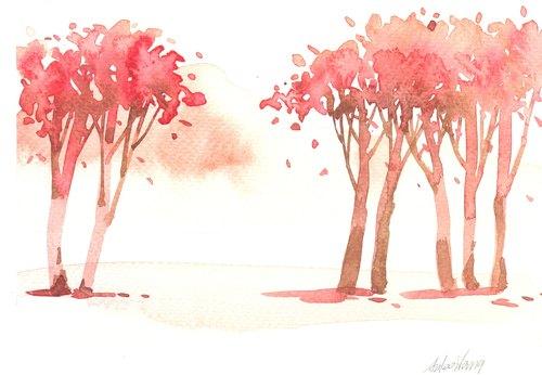 手绘限量版明信片/贺卡