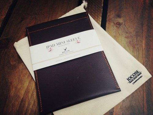 [免運費] 英倫 JOCOSE iPad/iPad Mini 皮套(內連格仔款及防塵袋)