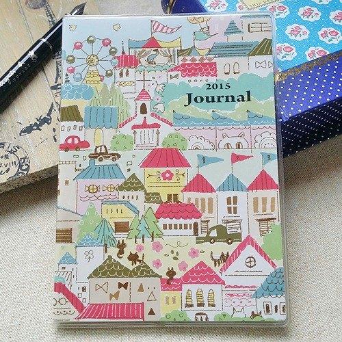 amifa 2015 迷你手帐 笔记本【27778 彩绘房屋】 - 纸图片
