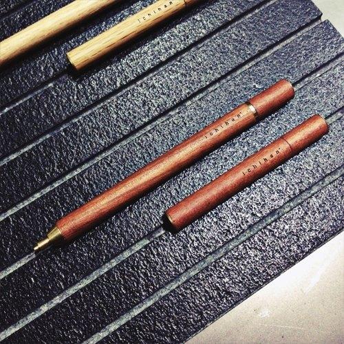 旋转自动铅笔 非洲樱桃木【木制文具】