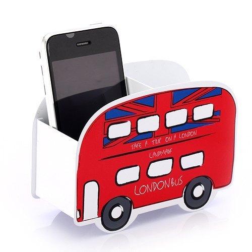 酷笔筒-汽车造型系列(红色伦敦巴士)/ 文具收纳图片