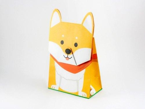 动物包装纸袋--柴犬
